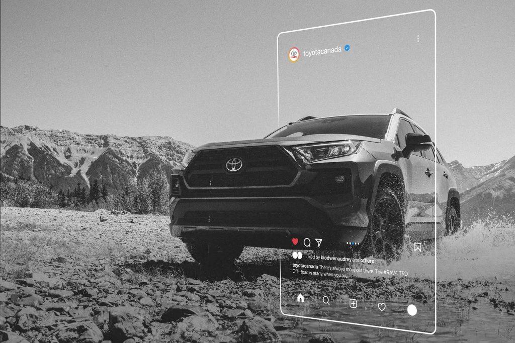 Toyota Canada Rav4TRD Off-Road Instagram | BLODWEN AUDREY