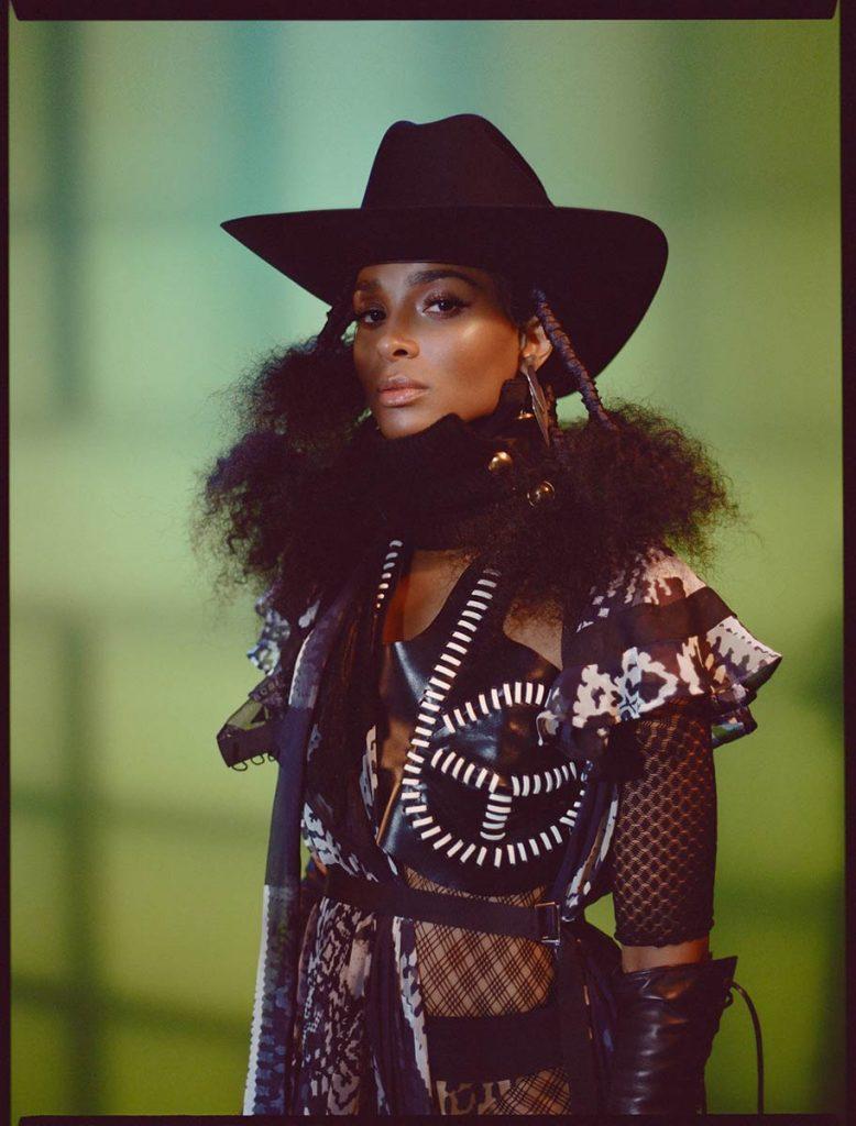 franceline graham inspiration female cowboy black hat