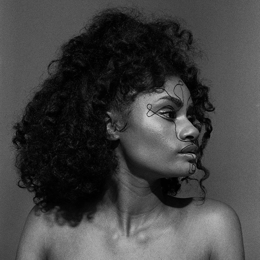 franceline graham inspiration black and white