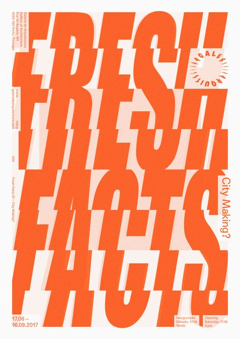 fresh facts graphic orange Kirsty Campbell inspiration