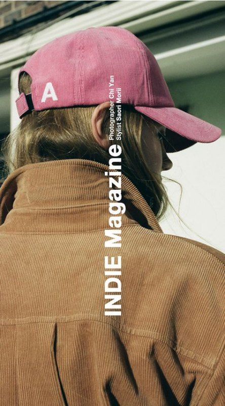 indie magazine female in hat Kirsty Campbell inspiration